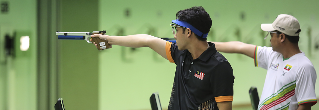 Wong shocks Olympic champion to claim Southeast Asian Games shooting spoils