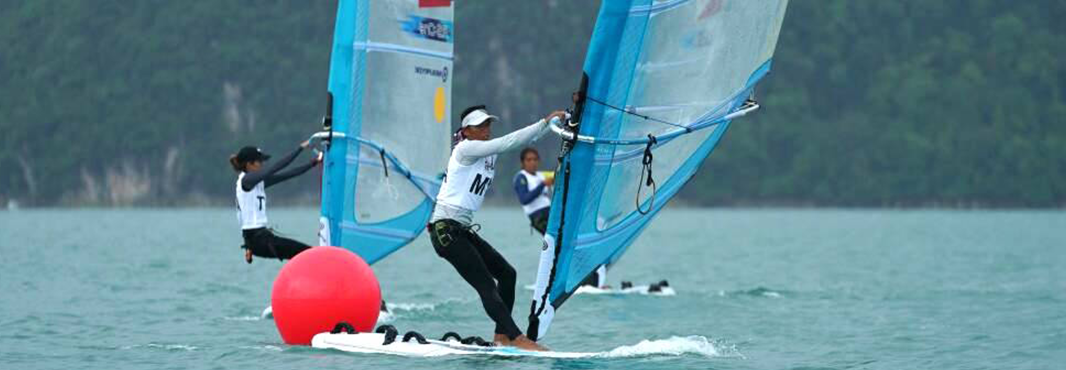 Thailand took gold in sailing today ©Kuala Lumpur 2017