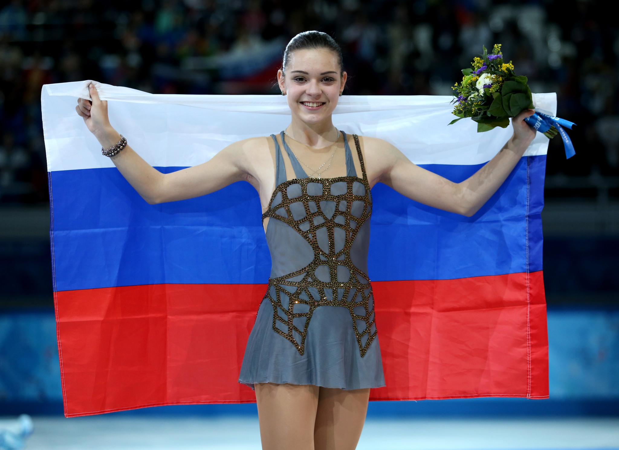 Adelina Sotnikova will not be able to defend the Olympic title she won at Sochi 2014 in Pyeongchang next year because of injury ©Getty Images