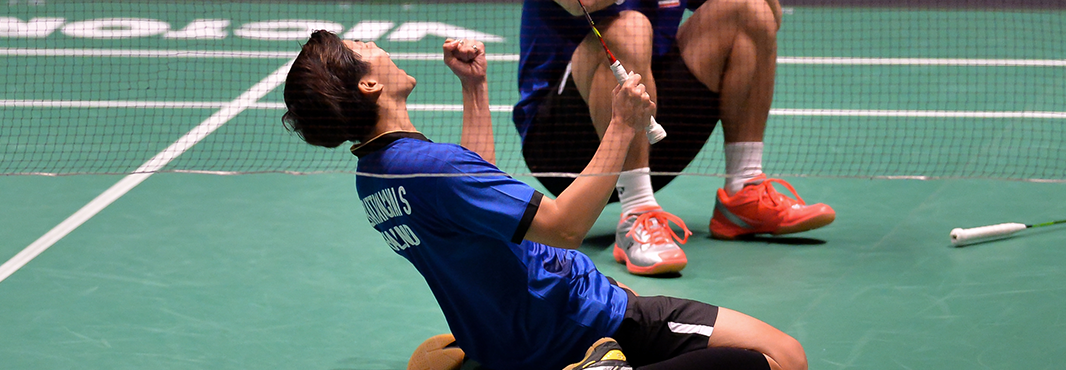 Thailand, Indonesia and Malaysia all enjoy badminton success at Southeast Asian Games