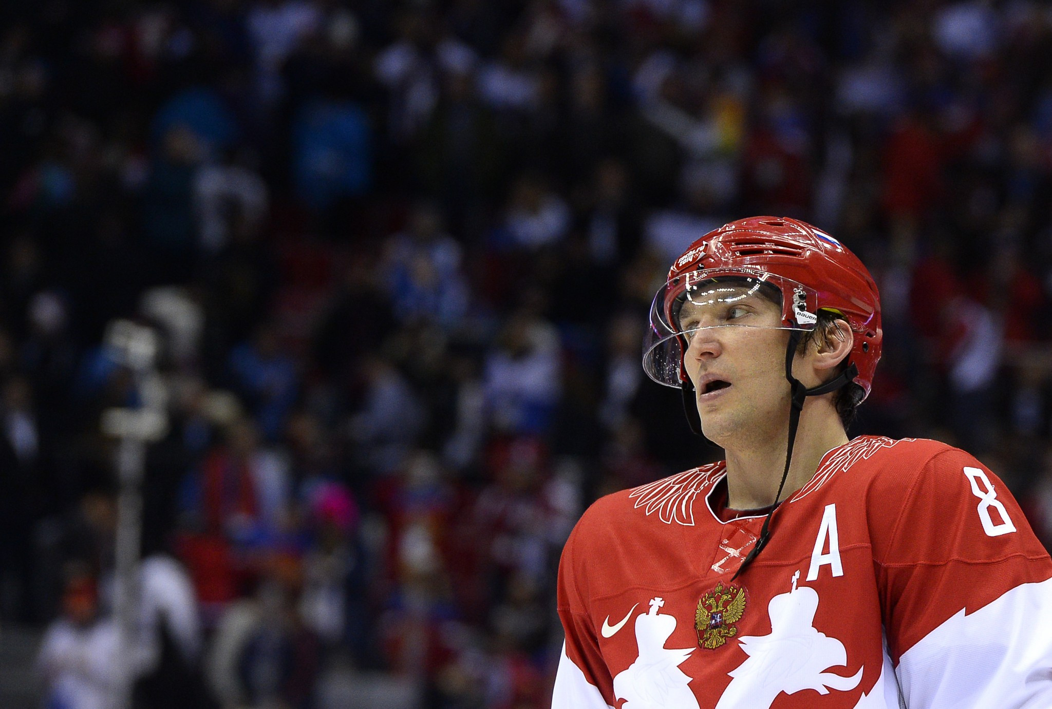 NHL star Alexander Ovechkin still wants to reperesent Russia at Pyeongchang 2018 ©Getty Images