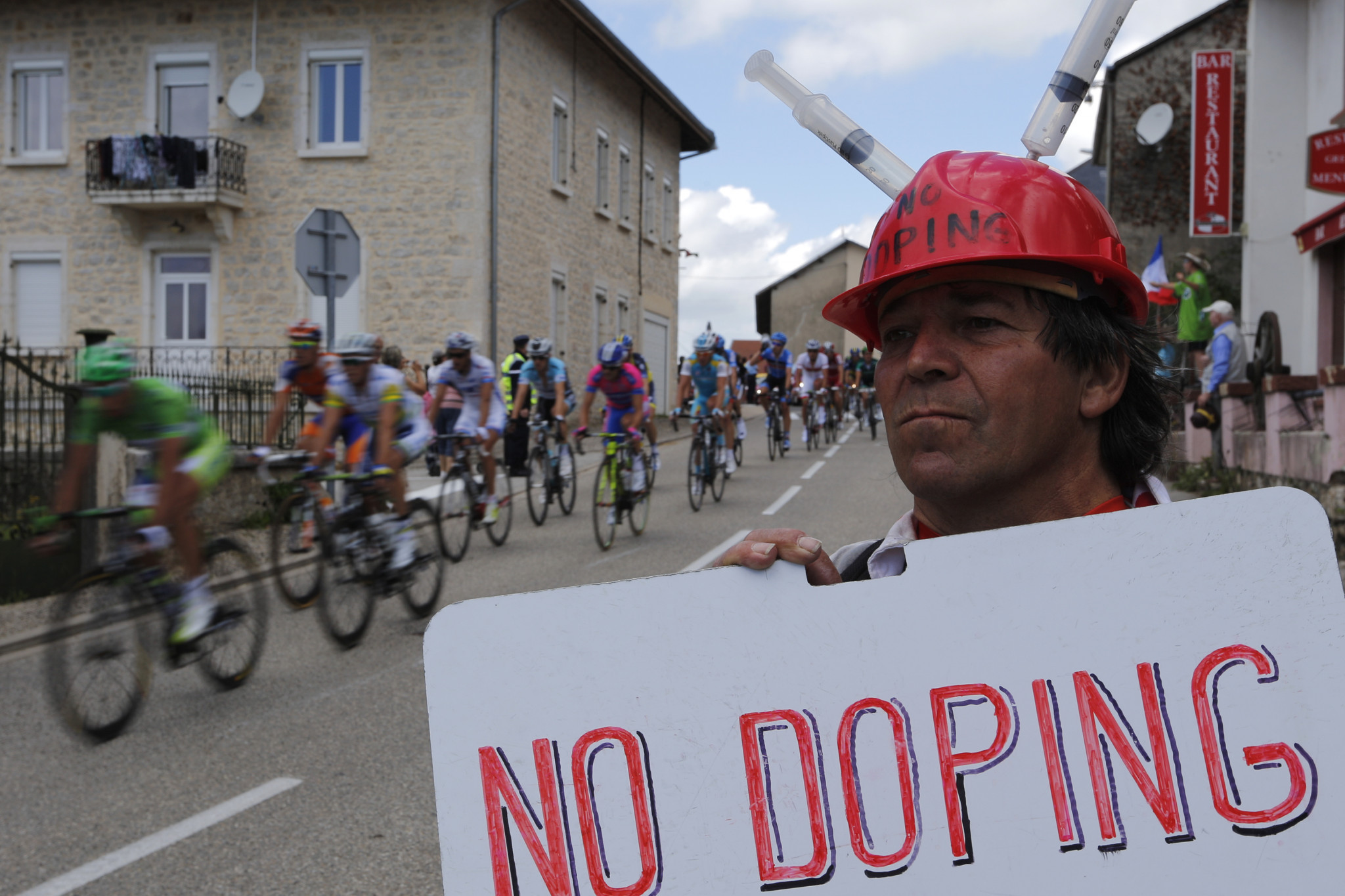 Convincing the public the battle against doping is being won is a tough ask ©Getty Images