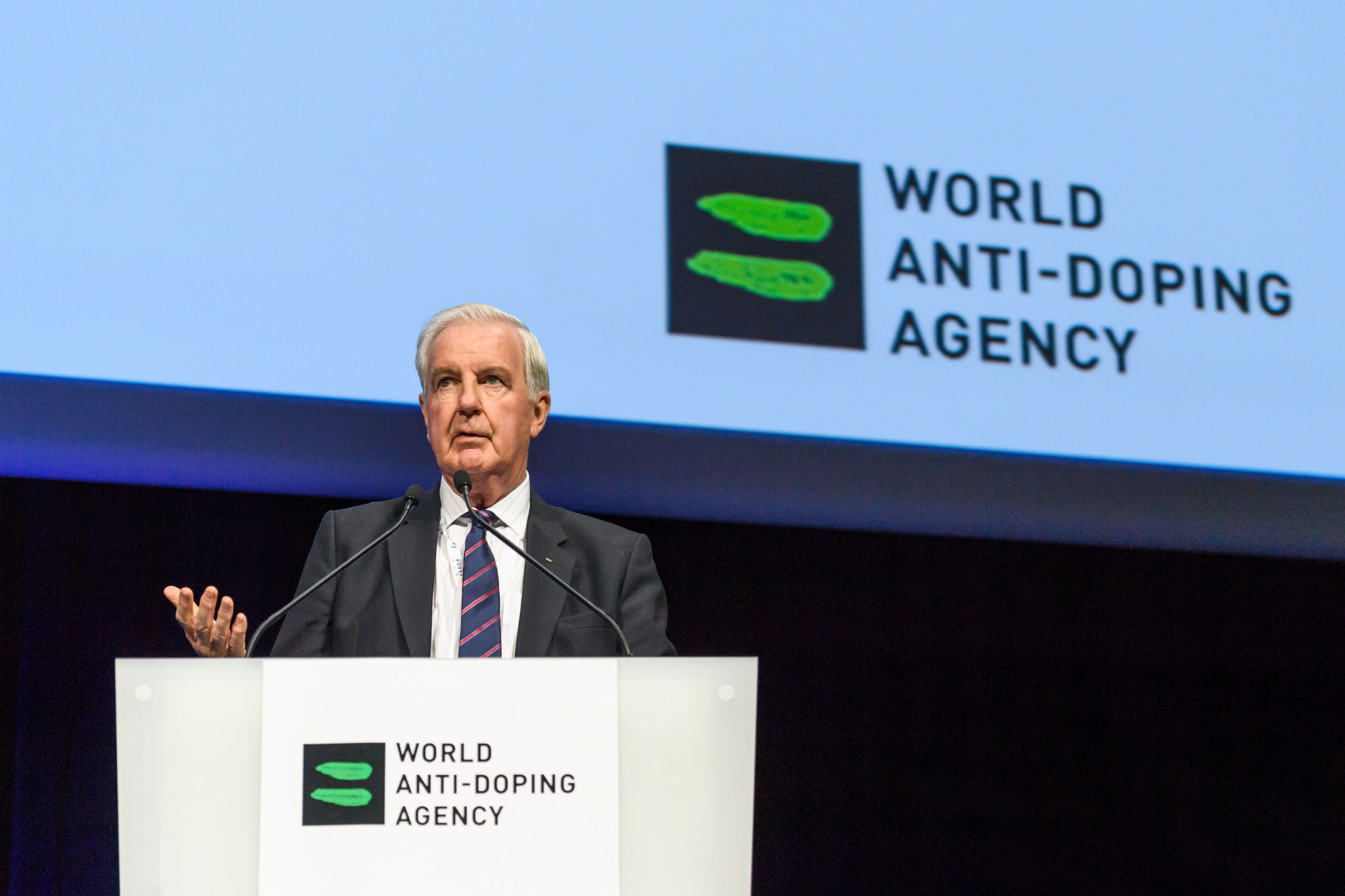 Sir Craig Reedie's WADA have faced problems with their ADAMS system ©Getty Images