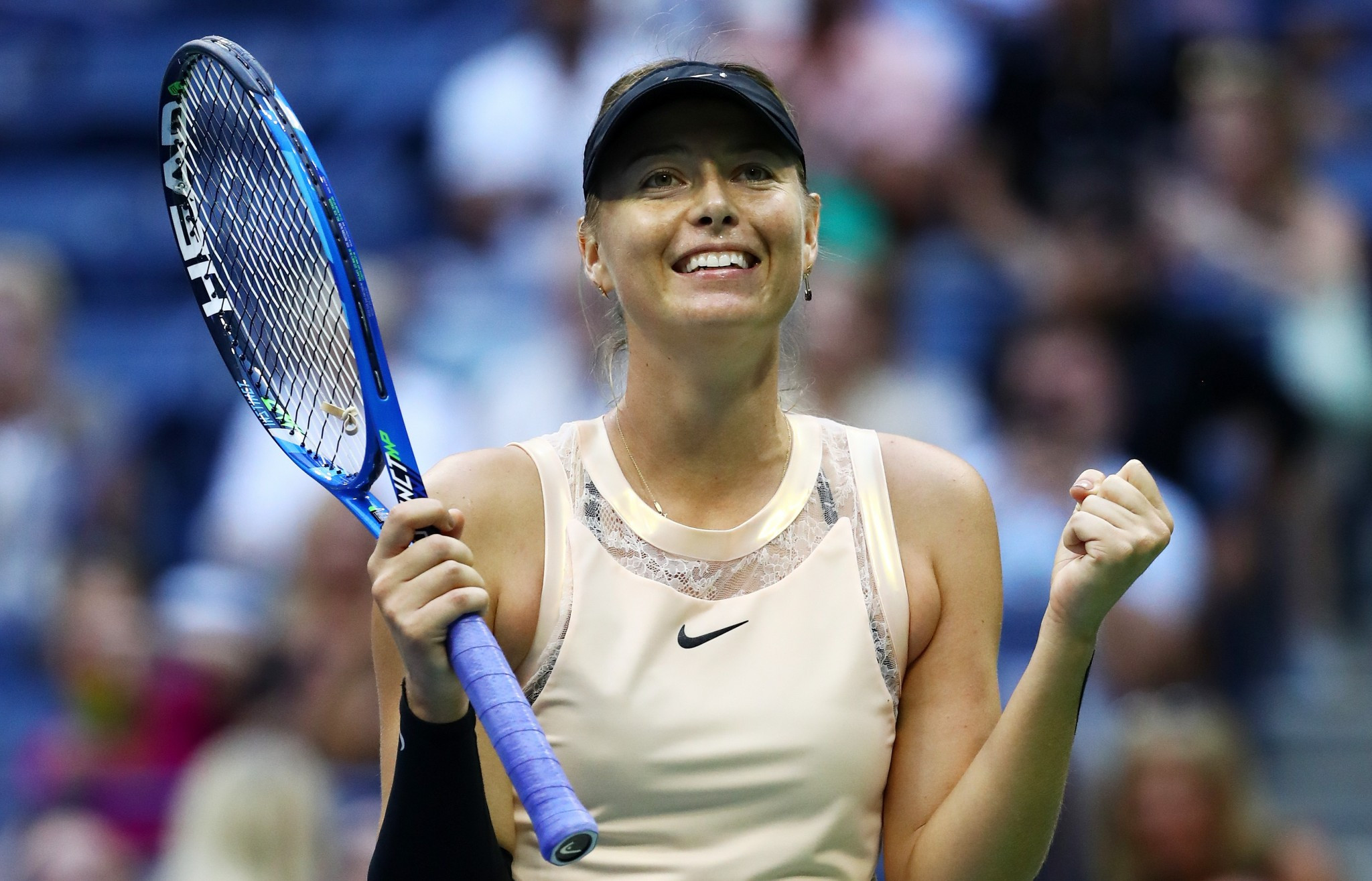 Maria Sharapova continued her good form at the US Open ©Getty Images