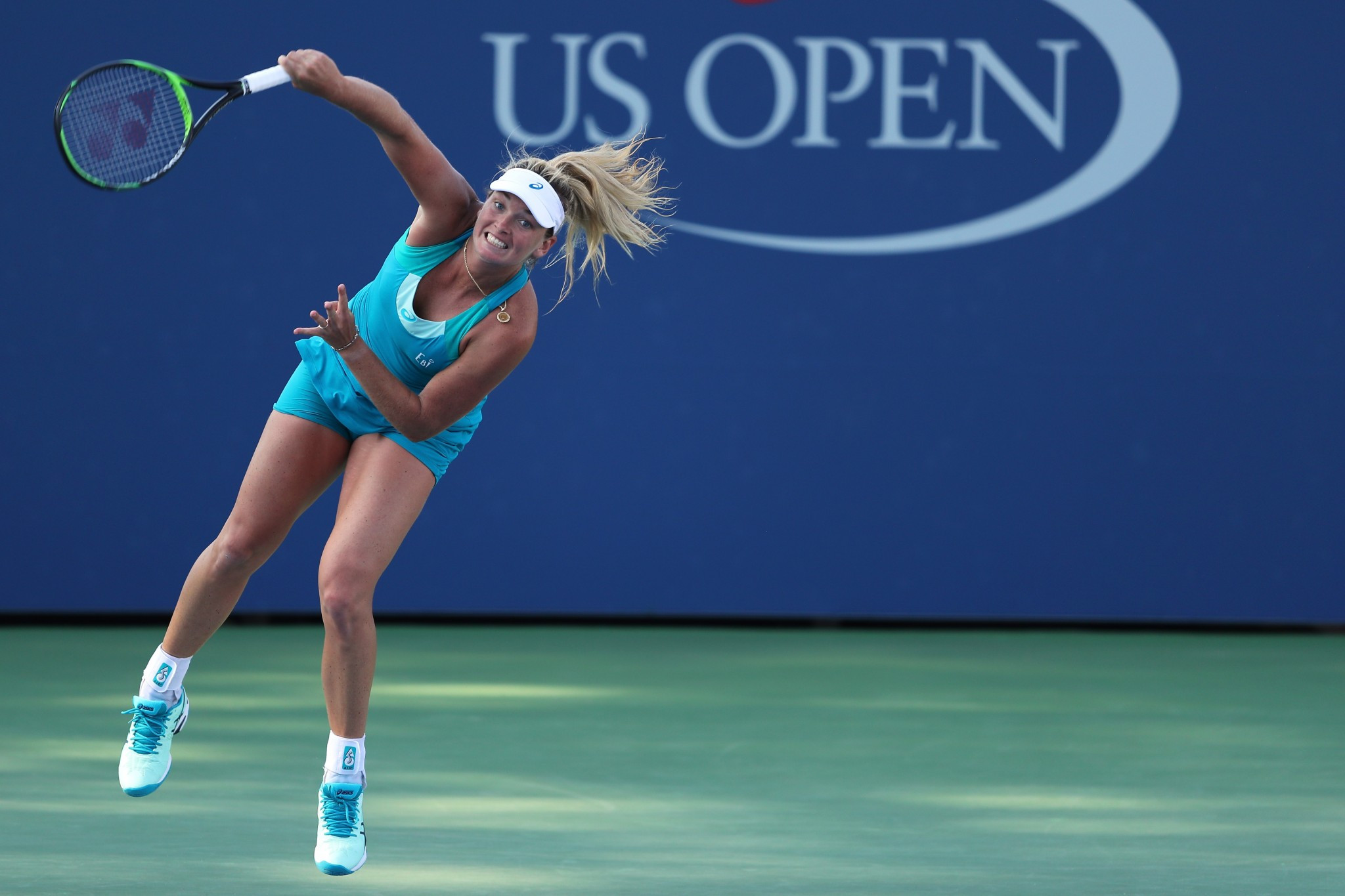 CoCo Vandeweghe spoke after a home win at the US Open ©Getty Images
