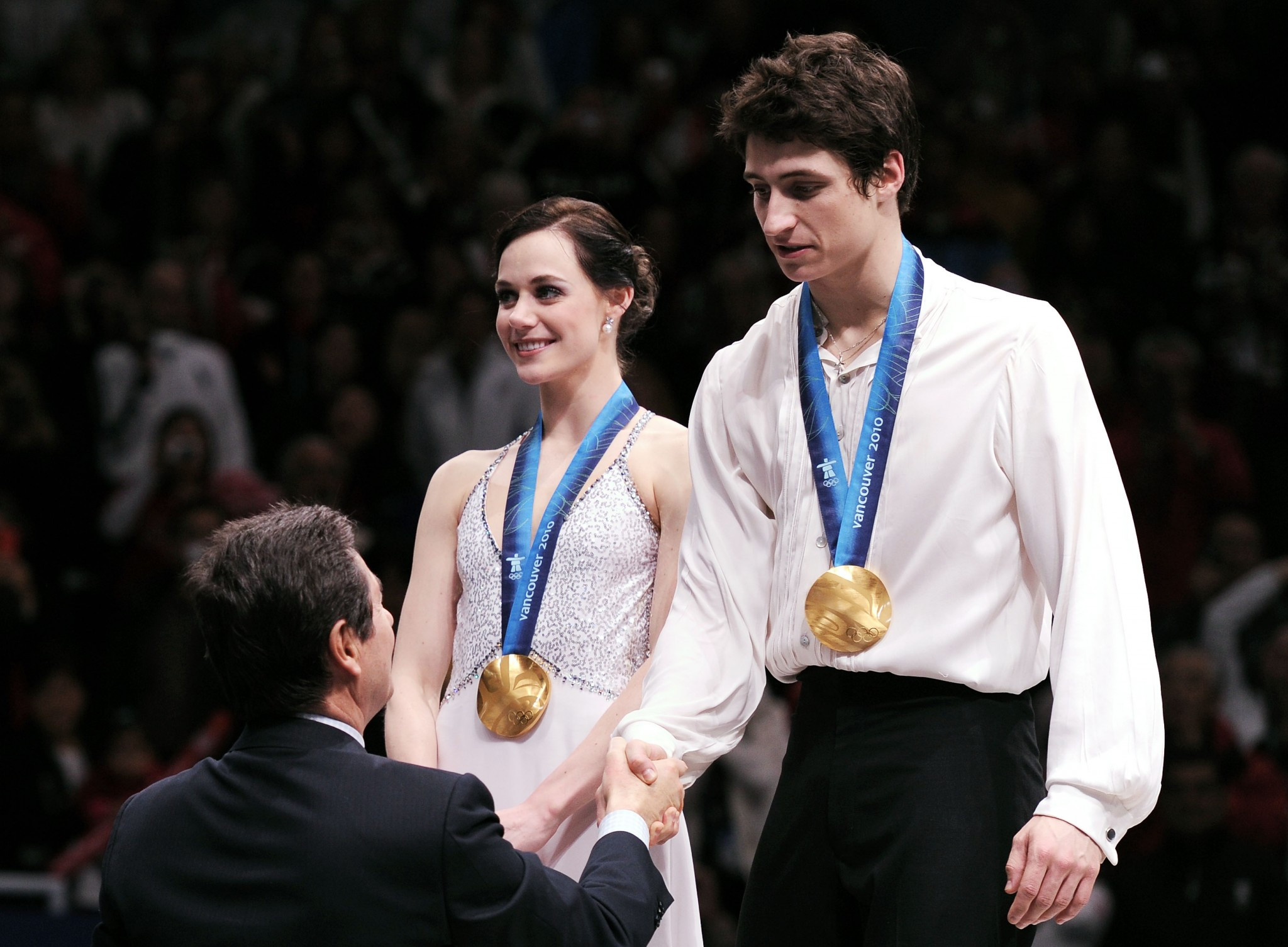 Tessa Virtue and Scott Moir won the ice dance event at their home Winter Olympic Games in Vancouver in 2010 ©Getty Images