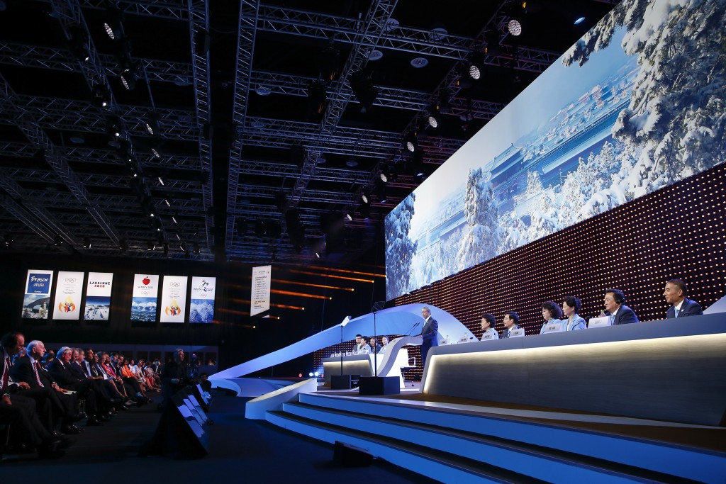 Voting for the 2022 Winter Olympics and Paralympics at the 128th IOC Session had to be re-staged as a paper ballot following problems with the electronic voting system