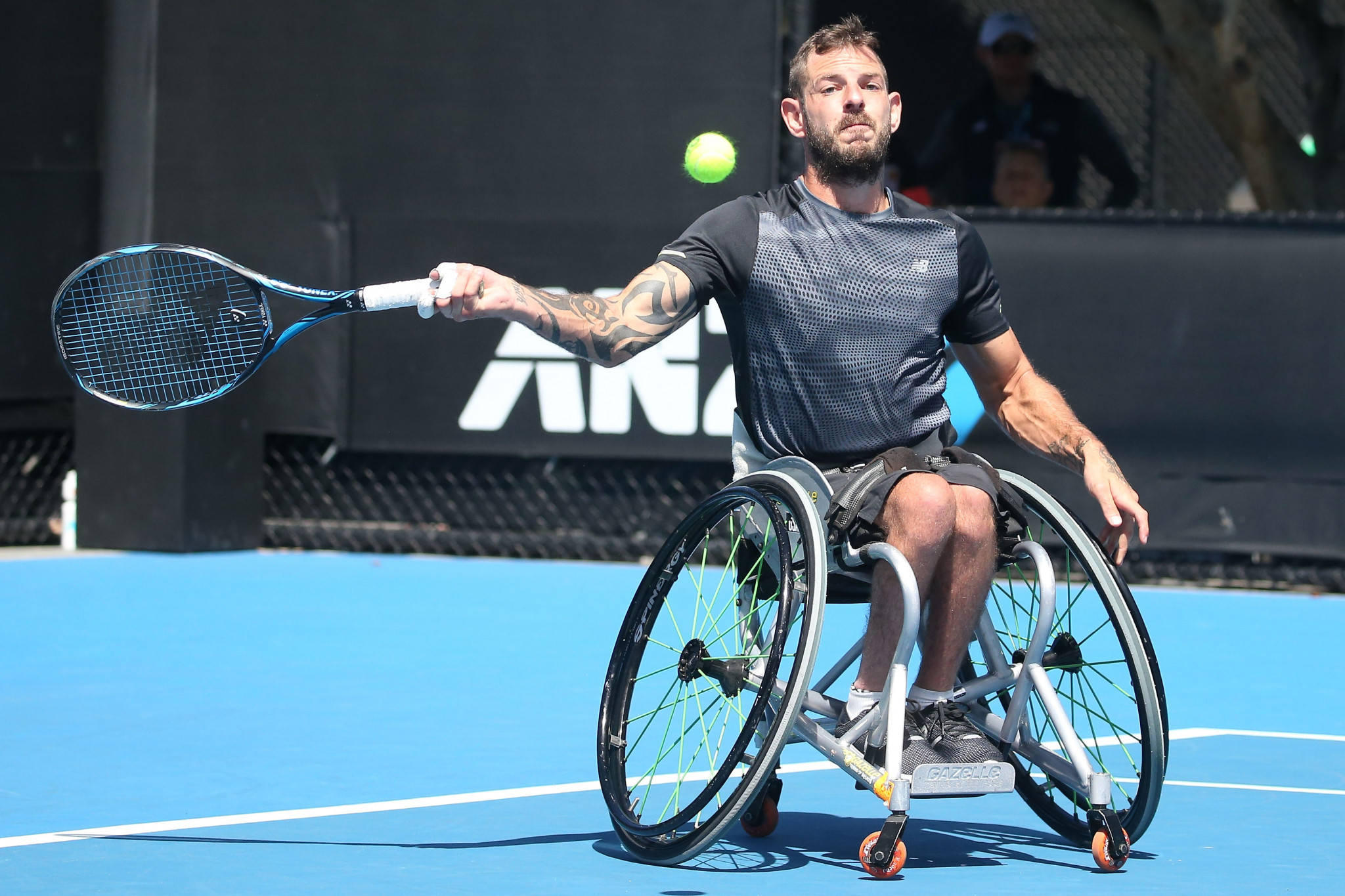 Davidson beats world number one Wagner to reach quad singles final at US Open Championships