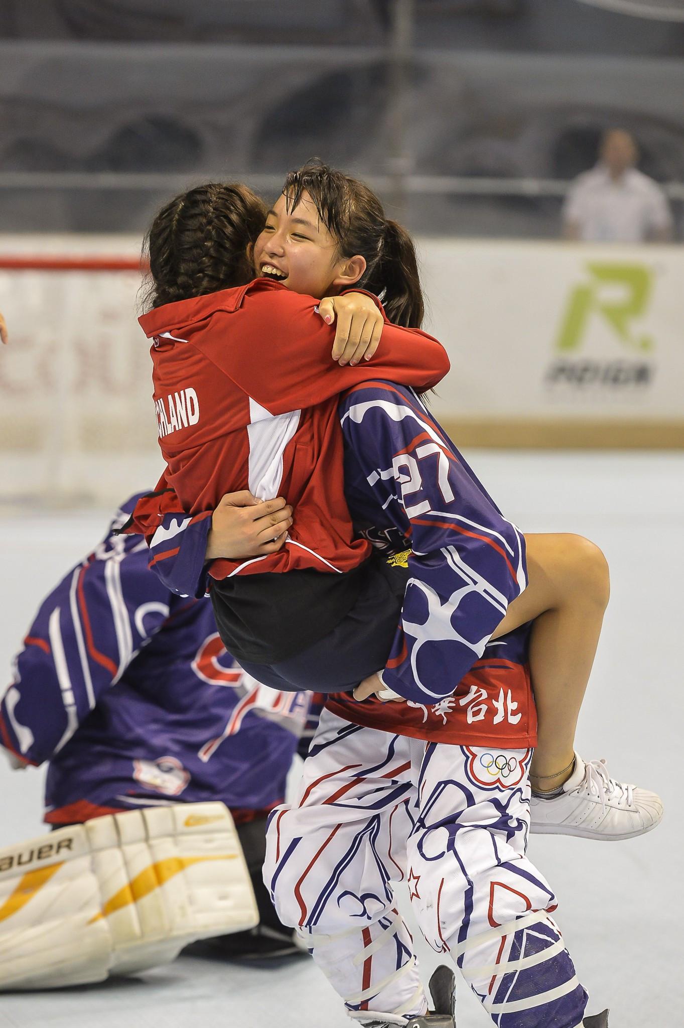 Chinese Taipei won inline hockey gold ©FIRS