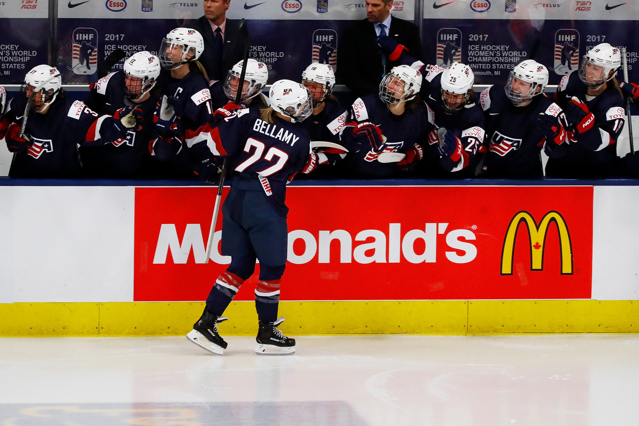 The United States will face Canada in four matches during the tour ©Getty Images