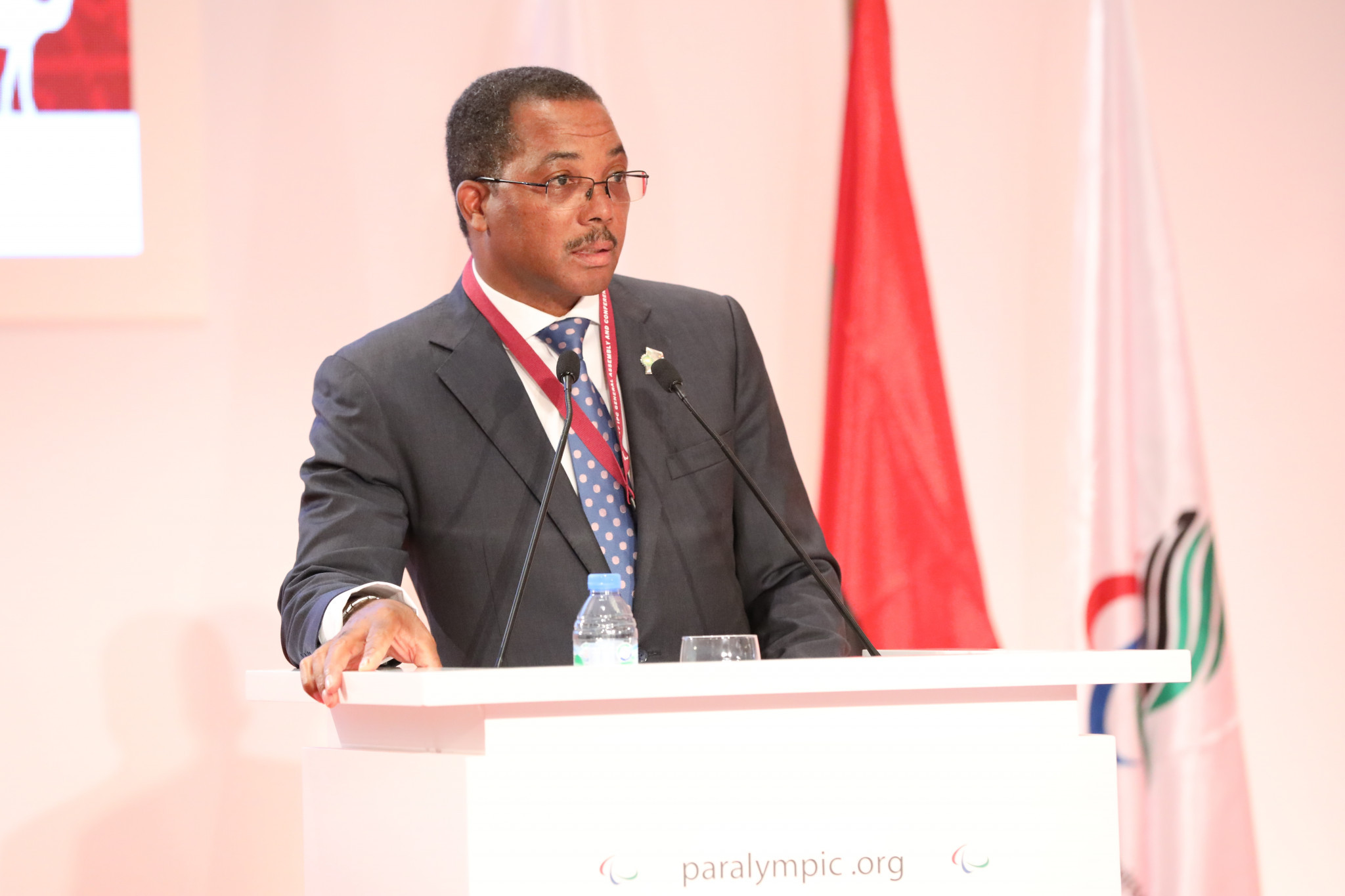 Pinto bemoans lack of Government support for African nations during IPC Governing Board pitch