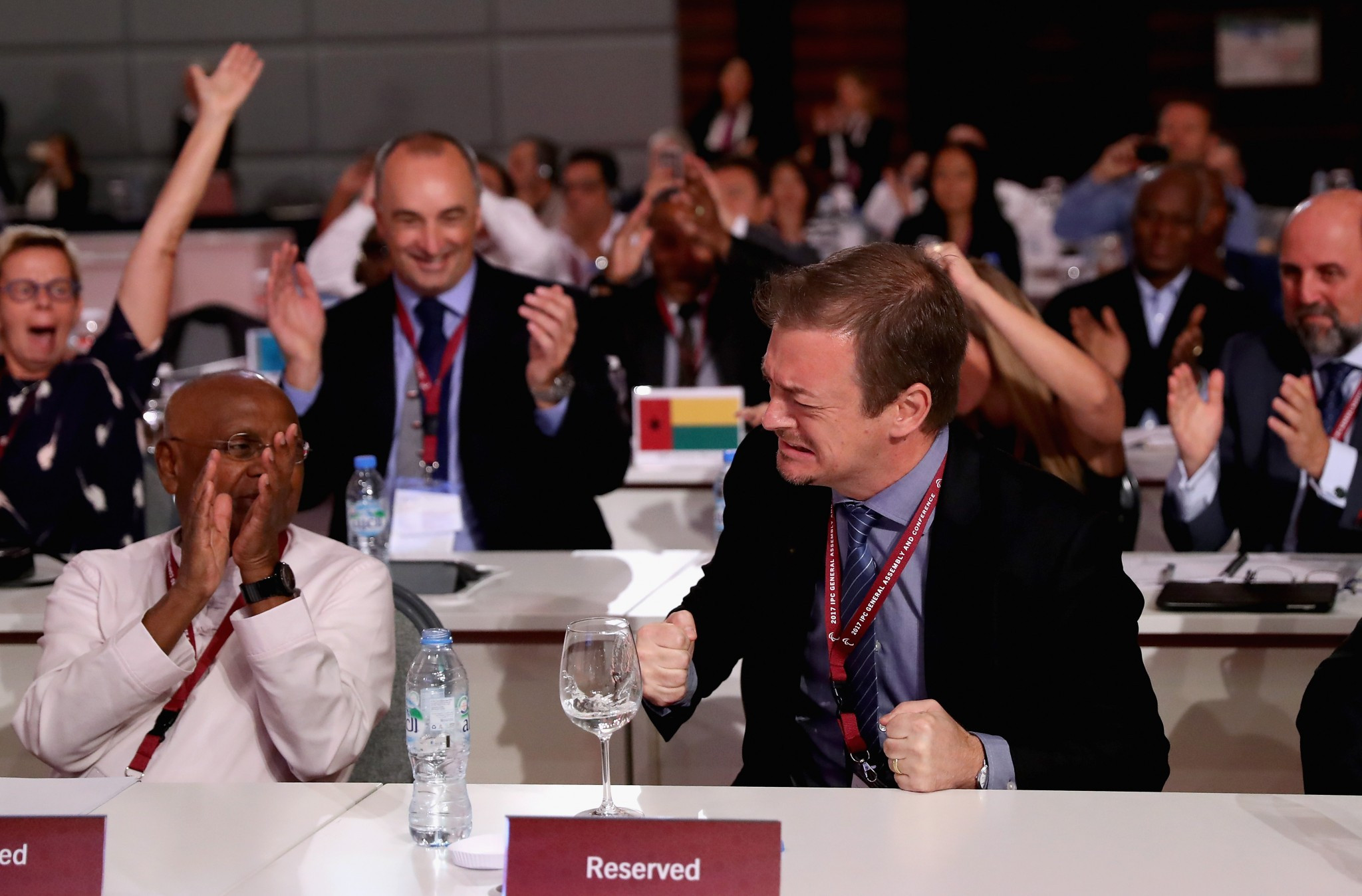 Parsons elected International Paralympic Committee President