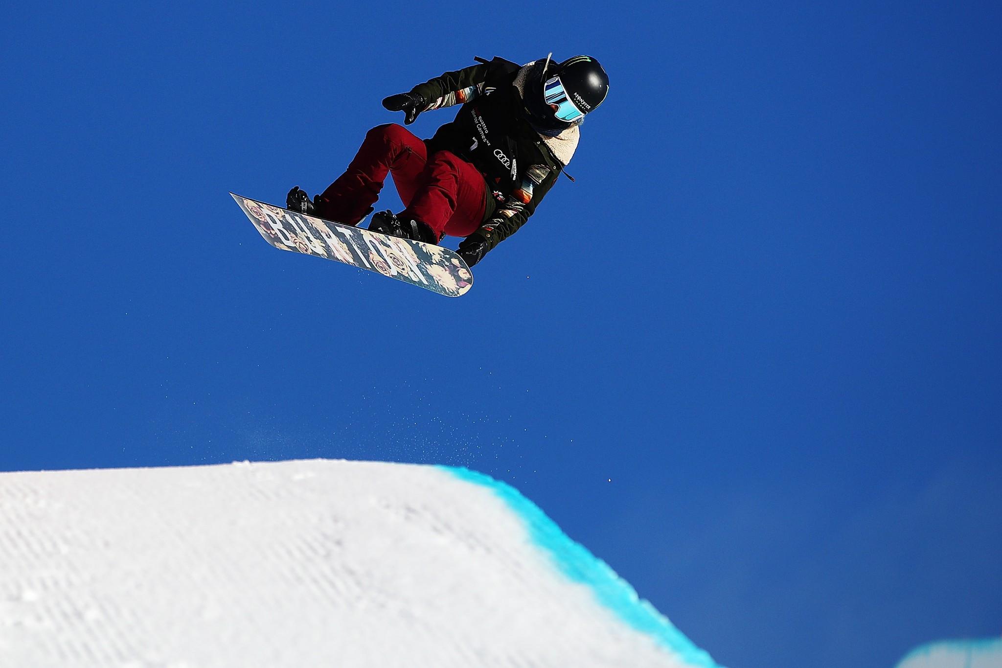 Kim stars at FIS Snowboard Halfpipe World Cup in Cardrona