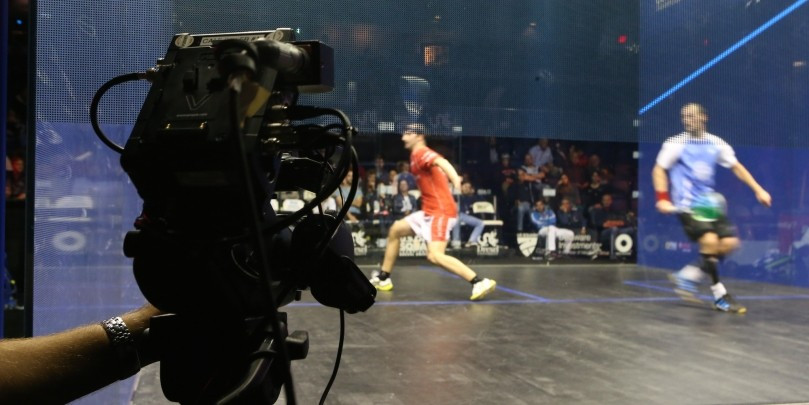 Squash is set to become the first-ever racquet sport to be broadcast live in Ultra HD in the United Kingdom ©PSA