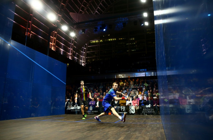 The 2015 Canary Wharf Squash Classic in London was shown live on BT Sport in March