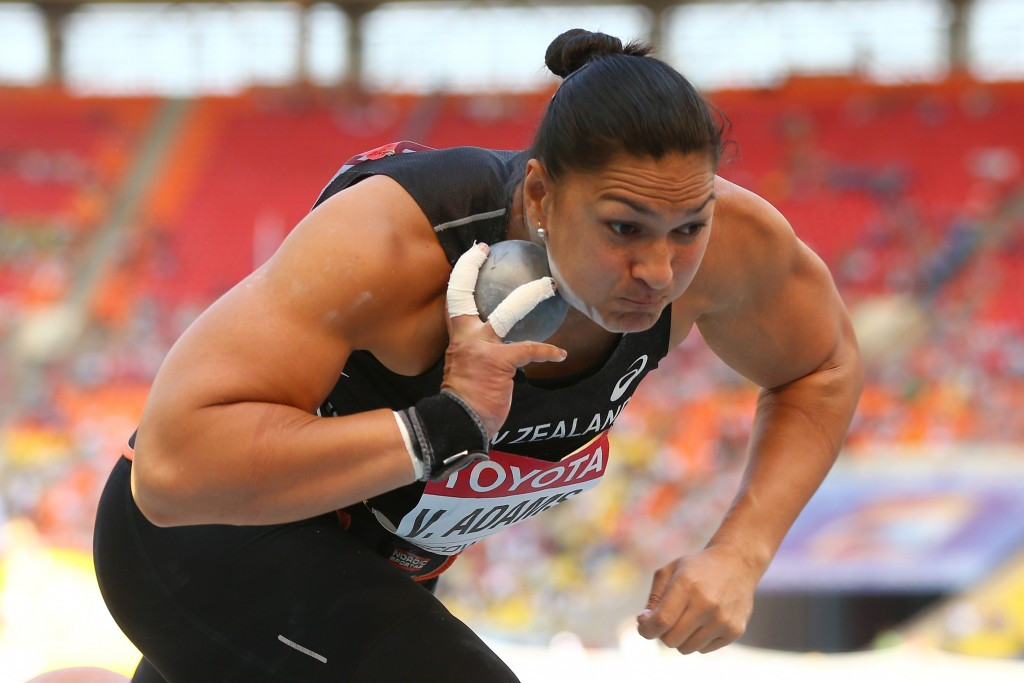 Valerie Adams will aim for a fourth Olympic medal in Tokyo ©Getty Images