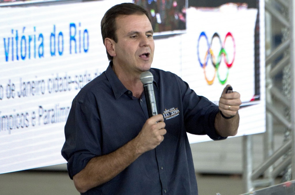 Rio Mayor Eduardo Paes has repeatedly defended construction projects associated with the Games