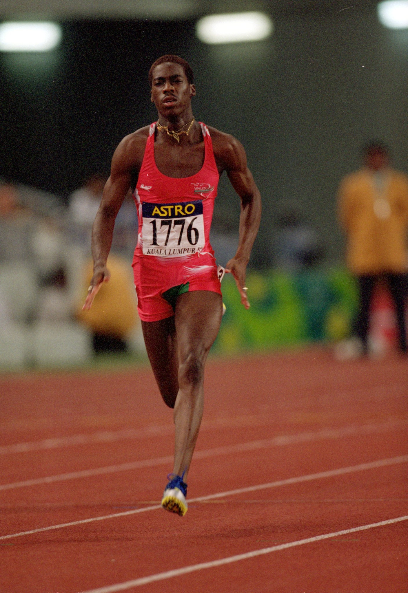 Christian Malcolm was also a two-time Commonwealth Games medallist in 1998 and 2010 ©Getty Images