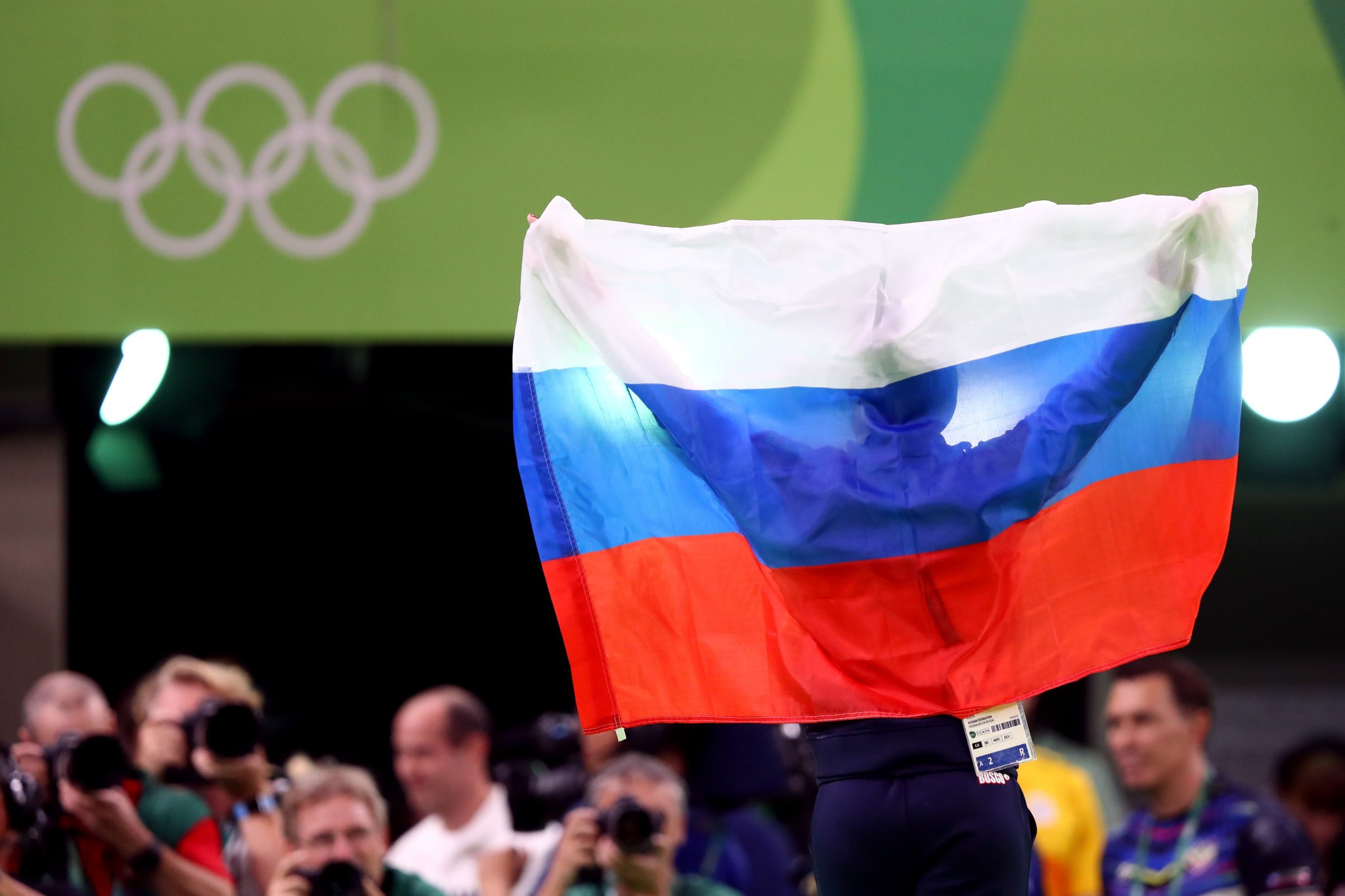 Ninety-five Russian athletes could be cleared ©Getty Images