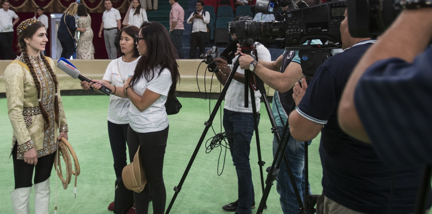 Coverage of the 2017 Asian Indoor and Martial Arts Games will be broadcast to hundreds of millions of homes worldwide, according to organisers ©Ashgabat 2017
