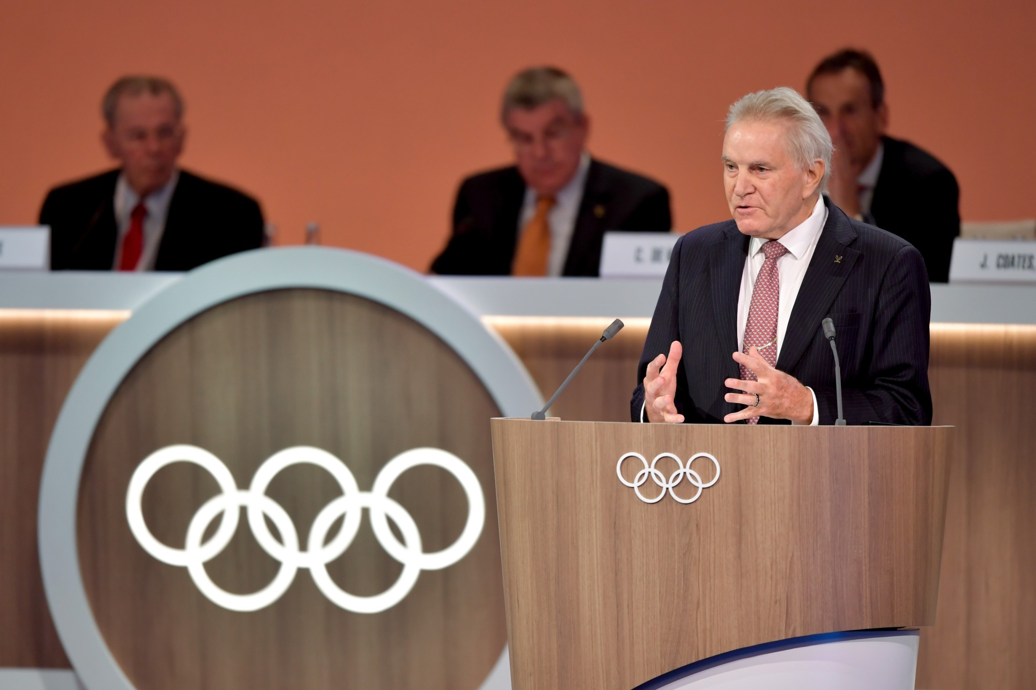 Switzerland's Denis Oswald was the final member elected to the Executive Board ©Getty Images