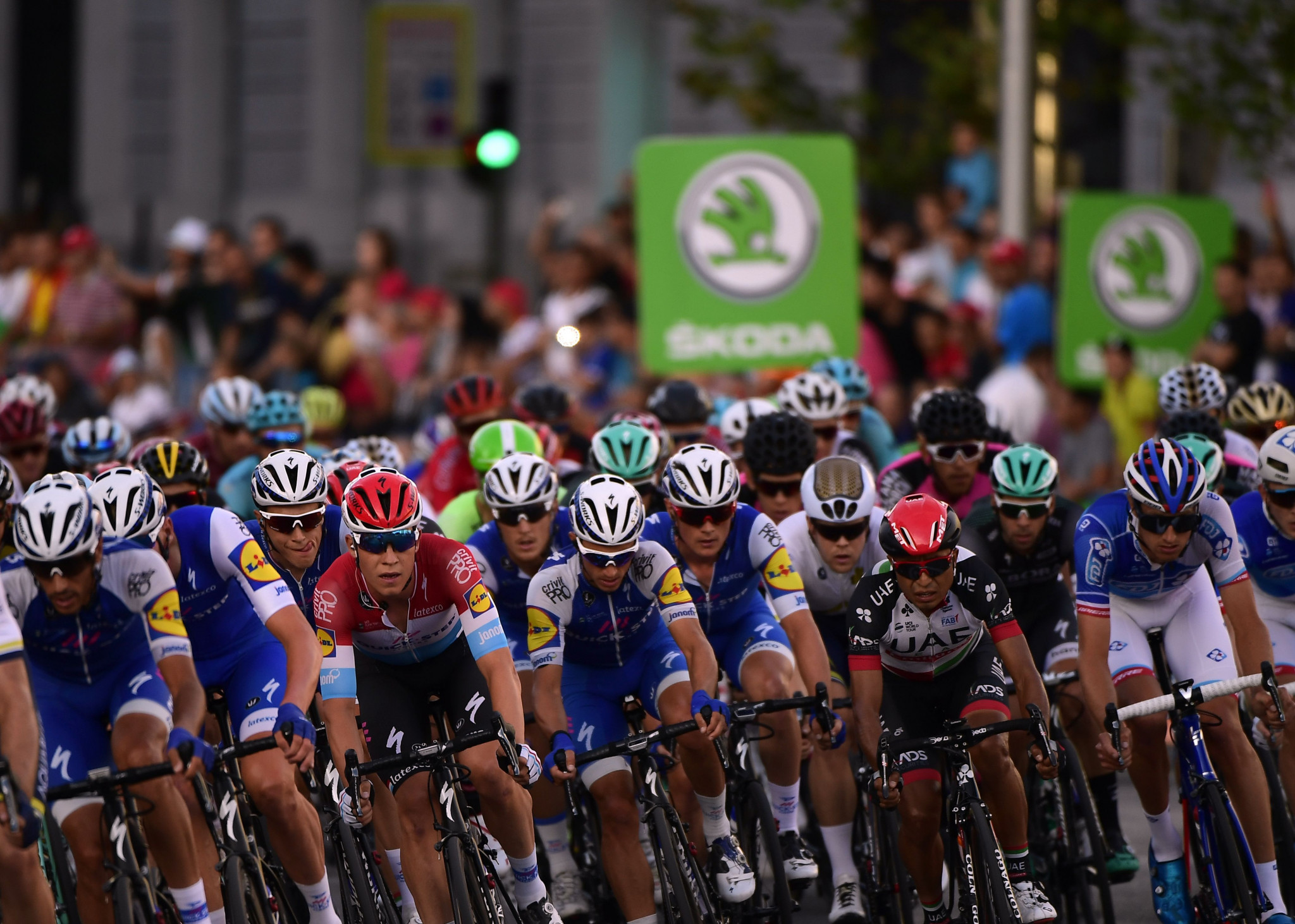The UCI confirmed reductions in the size of pelotons during international races ©Getty Images