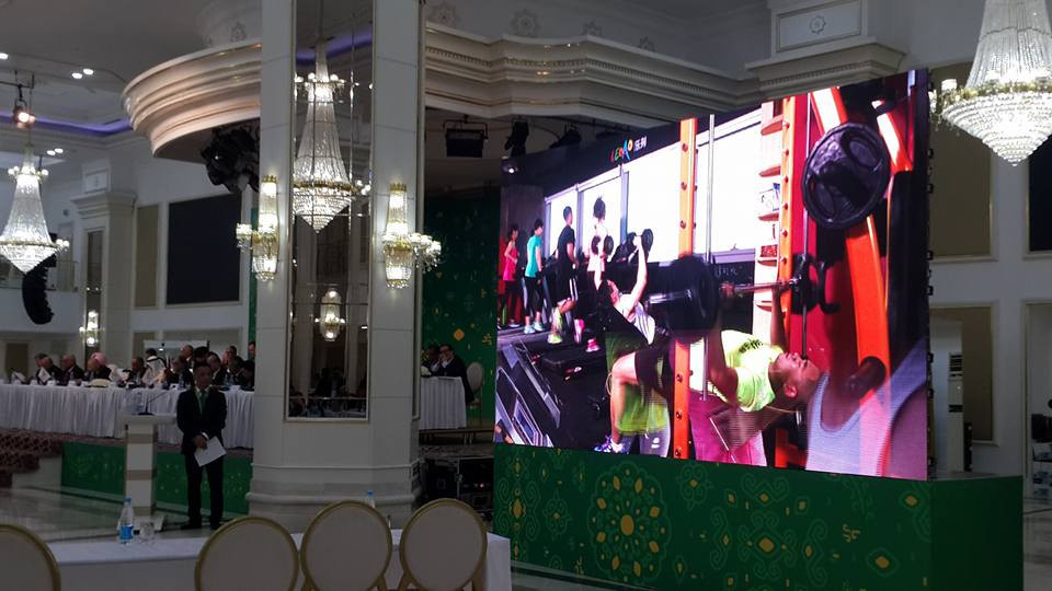 A progress report on the Hangzhou 2022 Asian Games was provided as part of the OCA General Assembly in Ashgabat ©ITG