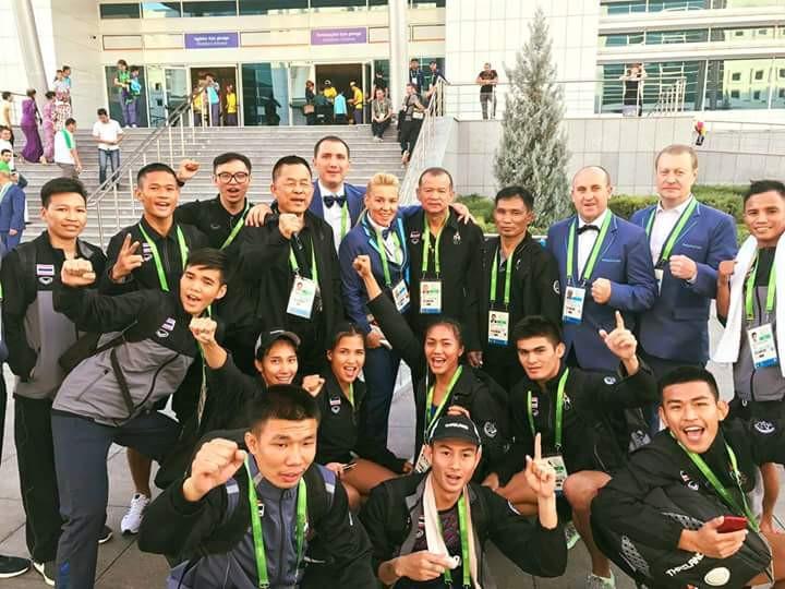 Thailand won half of the muaythai gold medals available at Ashgabat 2017 ©IFMA Muaythai/Twitter