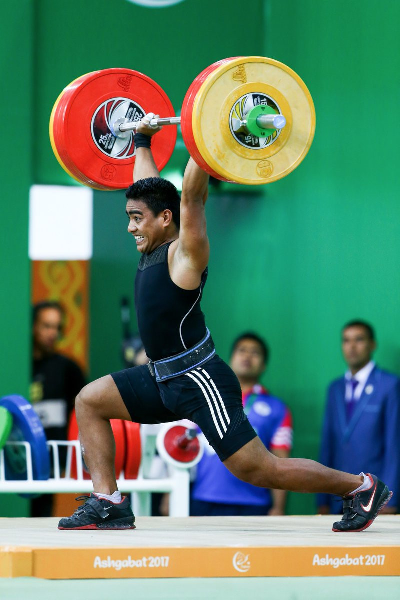 More medals were won today in weightlifting ©Ashgabat 2017/Twitter