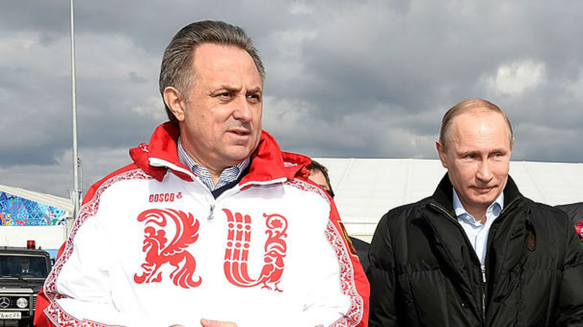 Grigory Rodchenkov has once again tried to pin the blame on Deputy Prime Minister Vitaly Mutko, left, for the doping scandal in Russia which has led to calls for them to be banned from Pyeongchang 2018 ©Getty Images