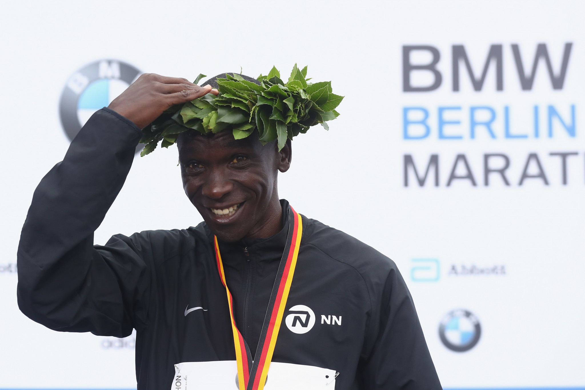 Kipchoge is Berlin Marathon winner outside world record time as Bekele and Kipsang drop out