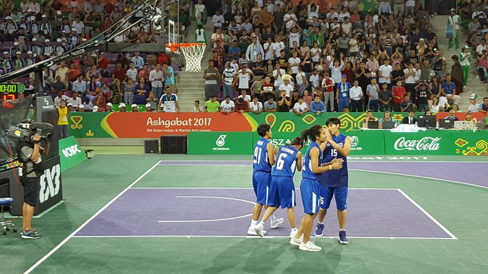 Thailand claimed the women's 3x3 basketball gold medal ©ITG