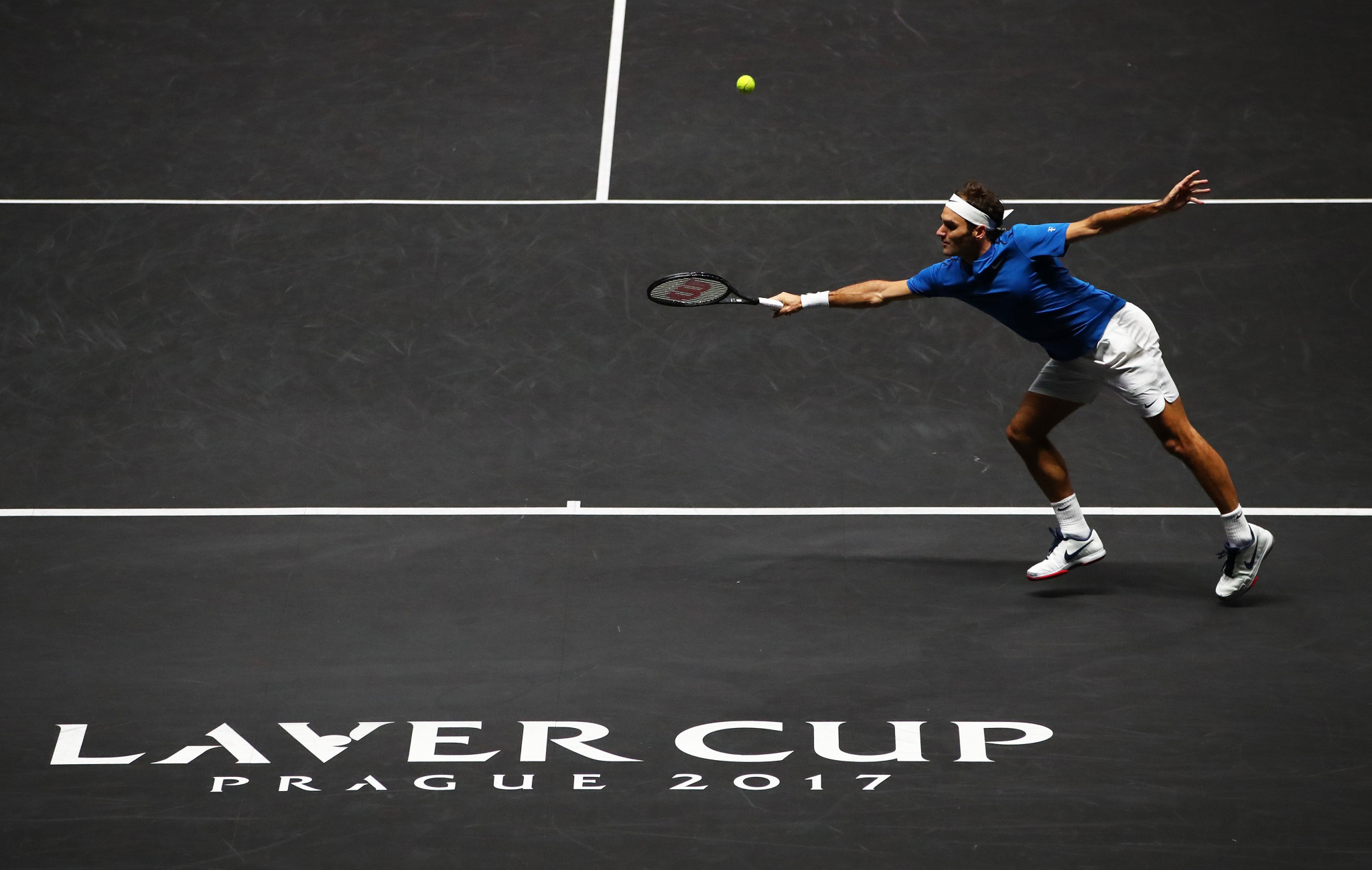 Roger Federer sealed the decisive victory as Europe won the Laver Cup ©Getty Images