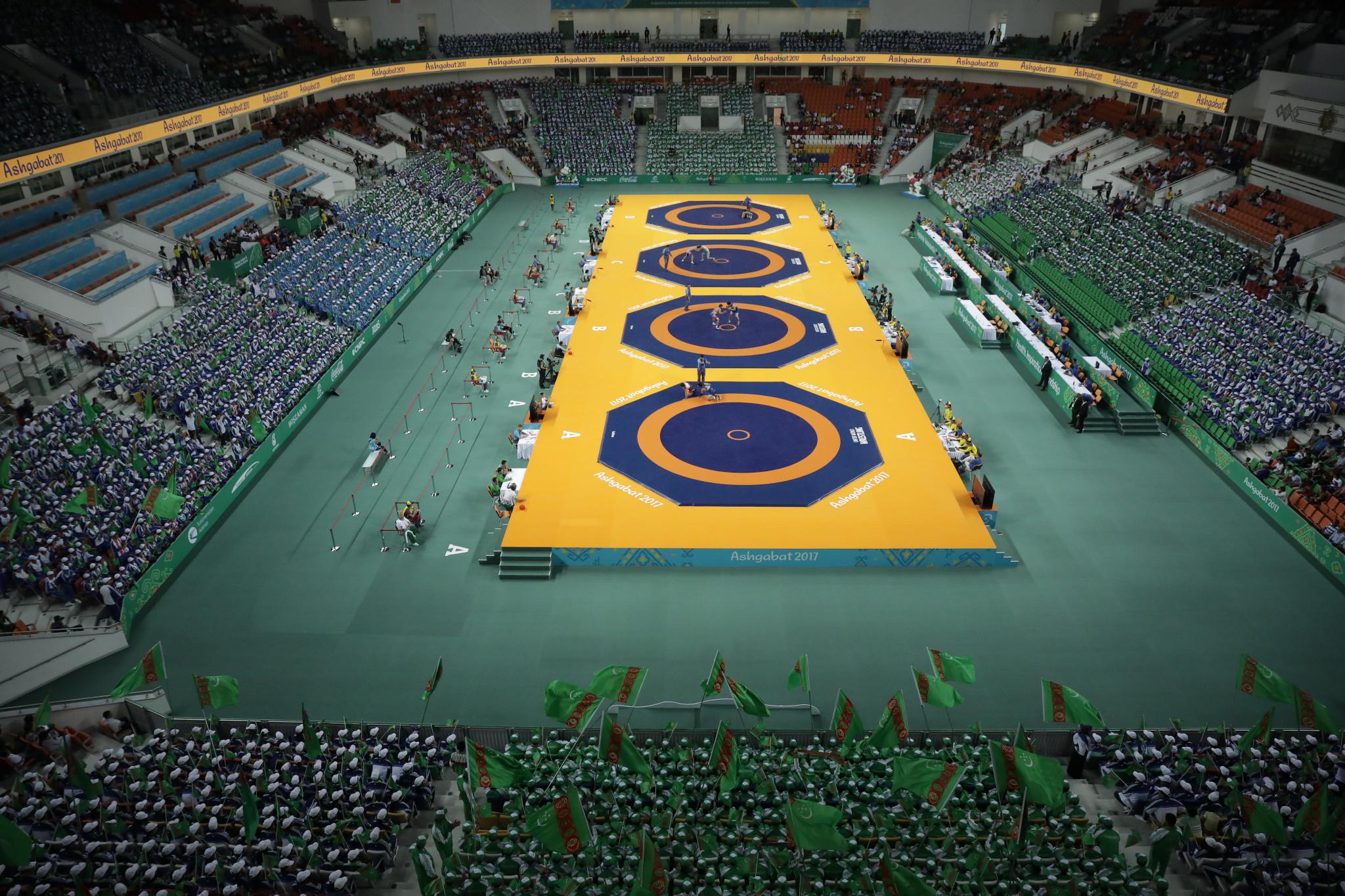 Wrestling competition got underway today ©Ashgabat 2017/Dimitris Tosidis/Laurel Photo Services