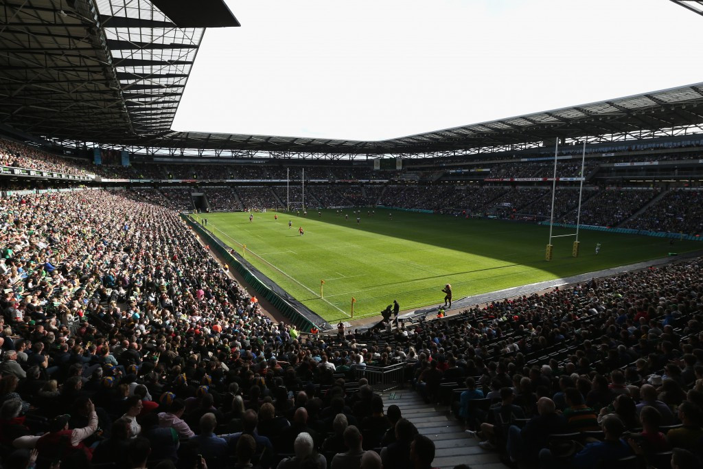 Northampton Saints' Aviva Premiership clash with Saracens in April at Stadium:MK in Milton Keynes formed part of England 2015's Rugby World Cup preparations
