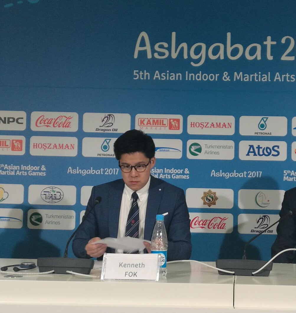 Kenneth Fok targeted IOC recognition for esports following his election as the President of the sport's Asian governing body ©OCA