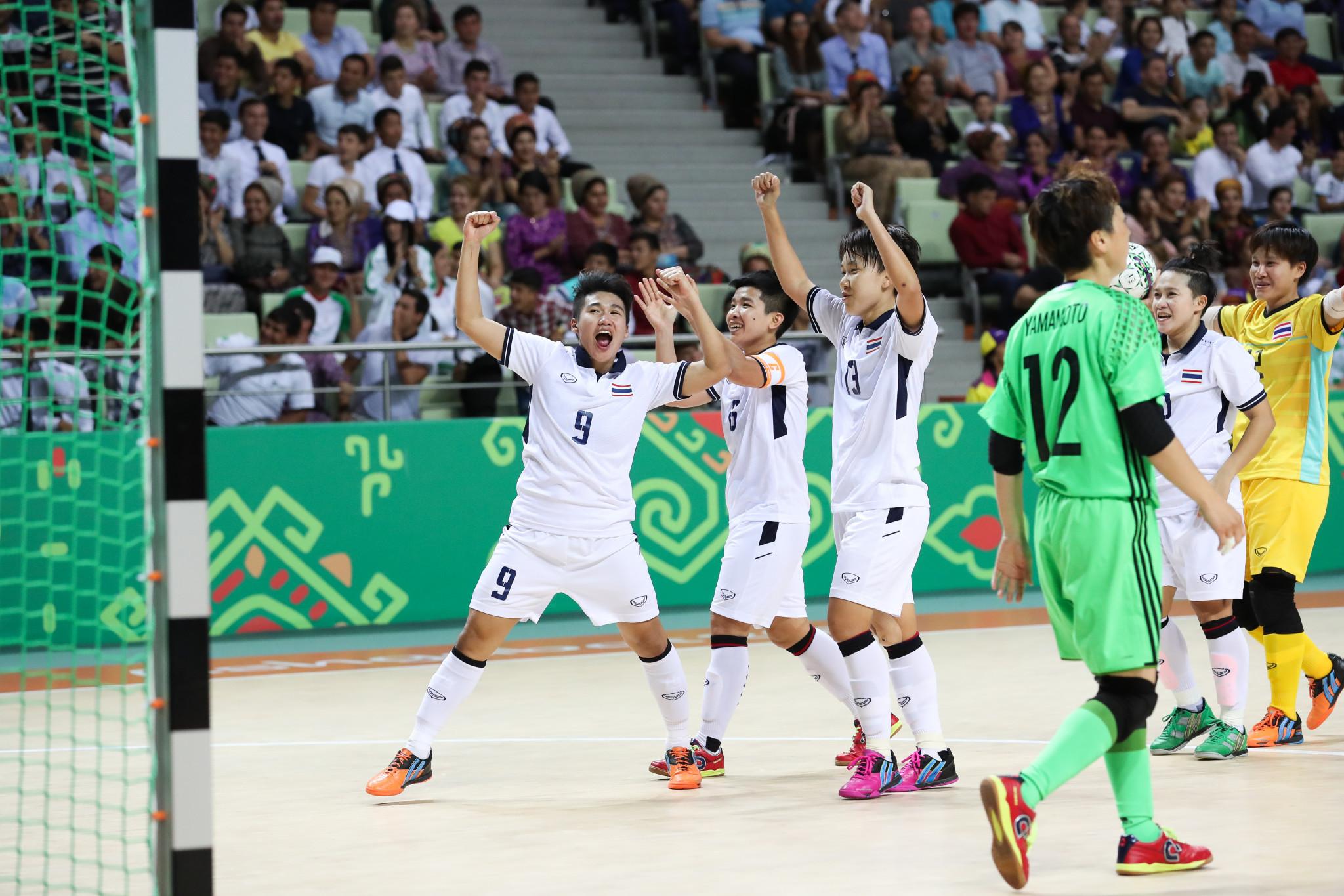 Thailand secure long-awaited AIMAG gold medal in women's futsal at Ashgabat 2017