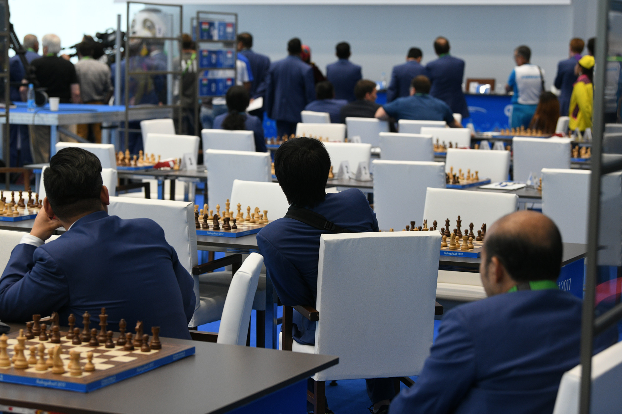 Chess competition concluded today ©Ashgabat 2017/Nassos Triantafyllou/Laurel Photo Services
