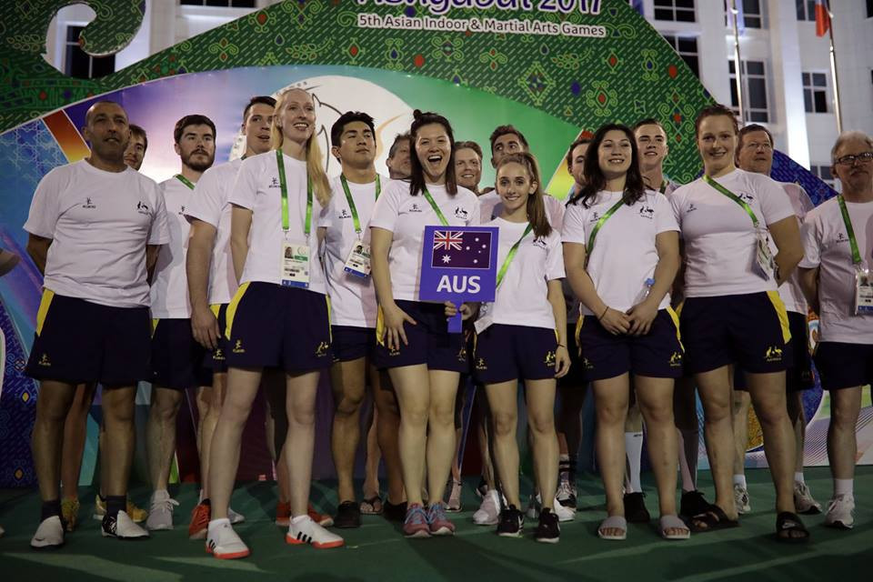 Australia were one of four Oceanian nations to win a medal at the 2017 Asian Indoor and Martial Arts Games ©Ashgabat 2017