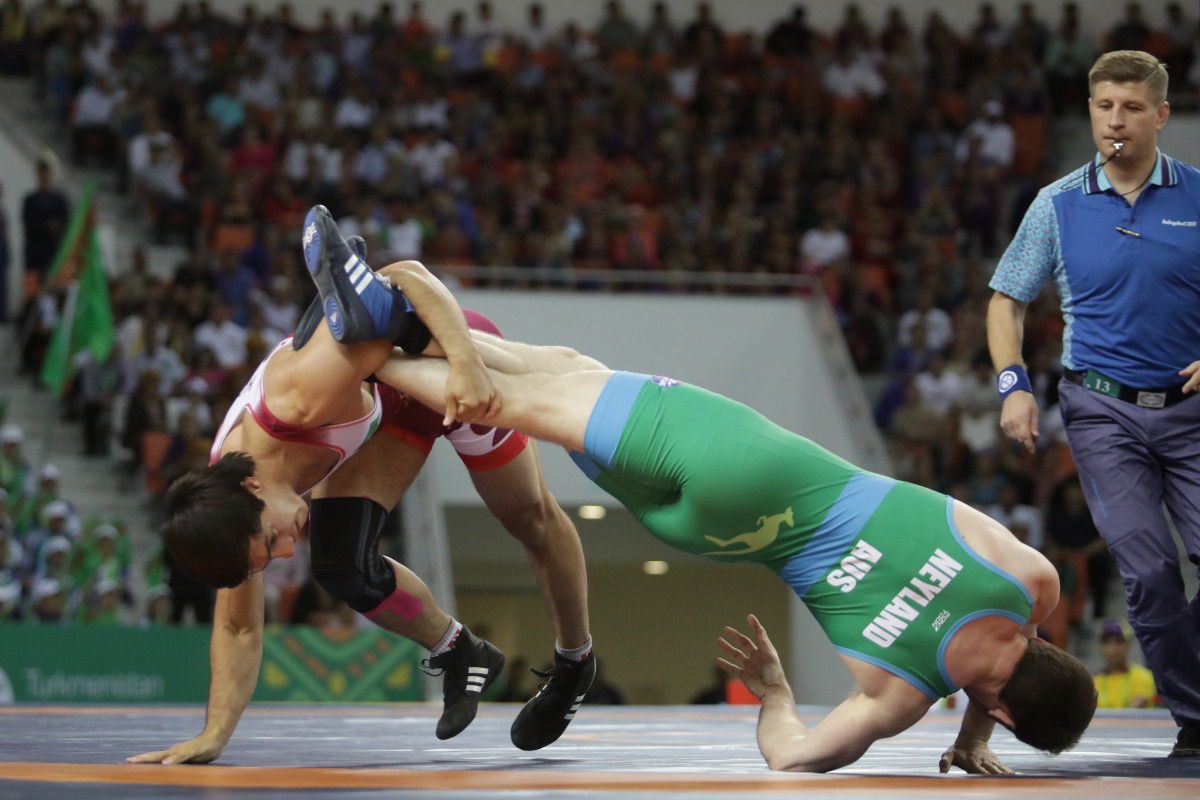 Wrestler Liam Brice Neyland was a member of Australia's 17-strong athlete delegation ©Ashgabat 2017