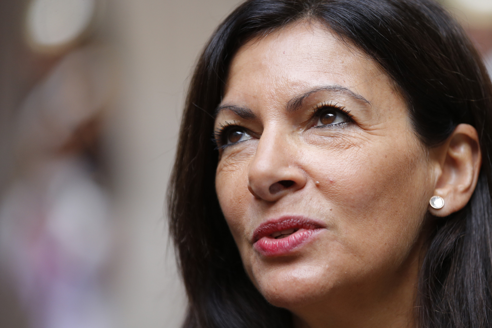 Paris Mayor Anne Hidalgo, as chair of Solideo, has launched the main building phase for the Paris 2024 Games ©Getty Images