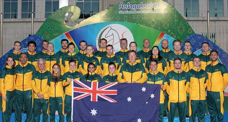 Taekwondo player expresses delight at making Australian history during Ashgabat 2017