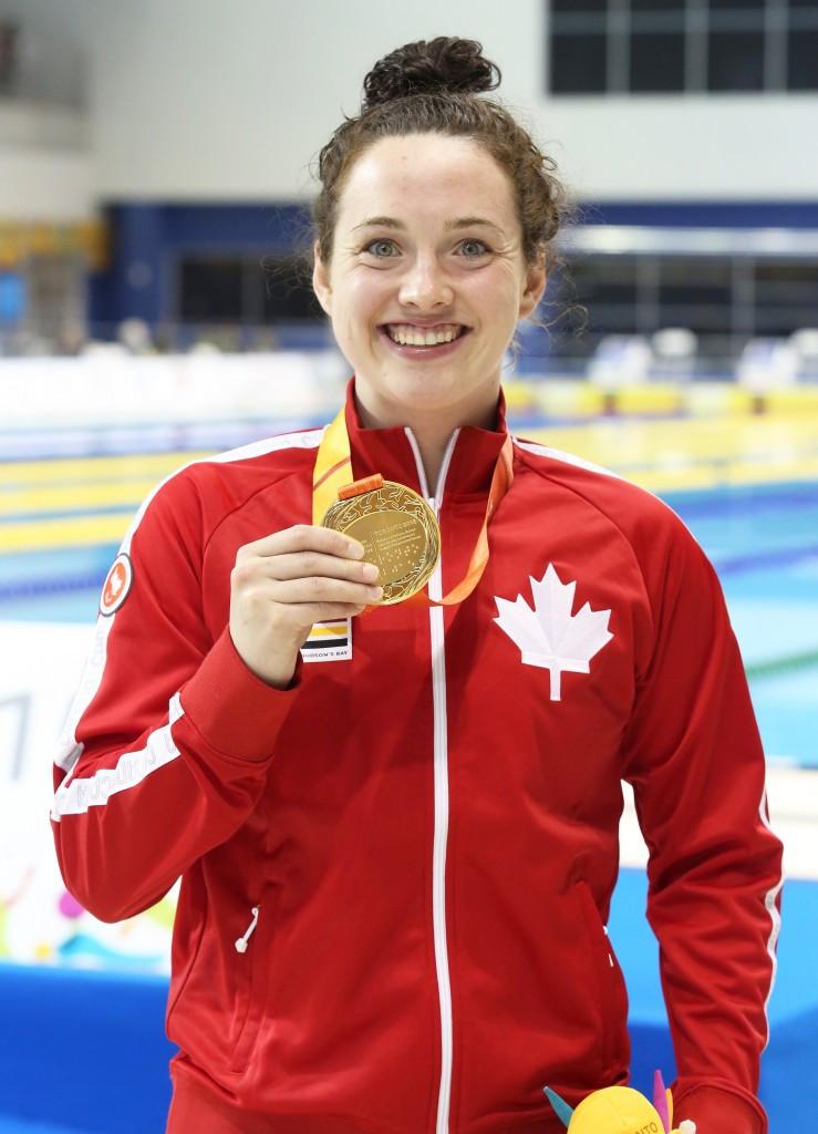 Canada enjoy super Sunday of swimming at Parapan American Games