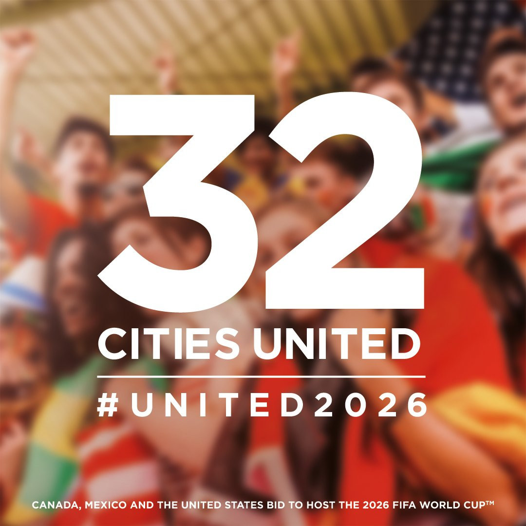 A total of 32 cities have been shortlisted as potential World Cup host venues ©United 2026