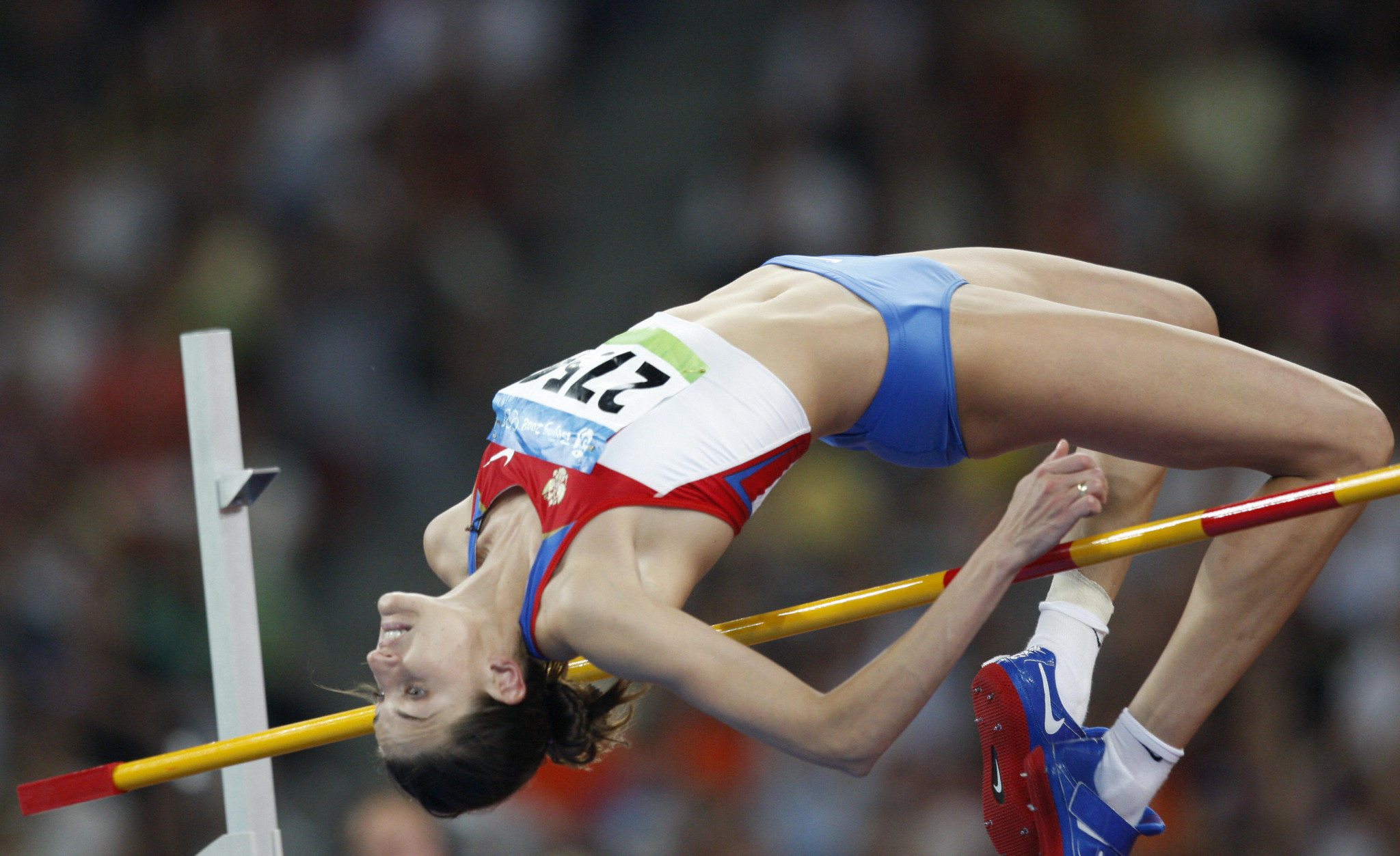 Anna Chicherova has been stripped of her Beijing 2008 bronze medals ©Getty Images