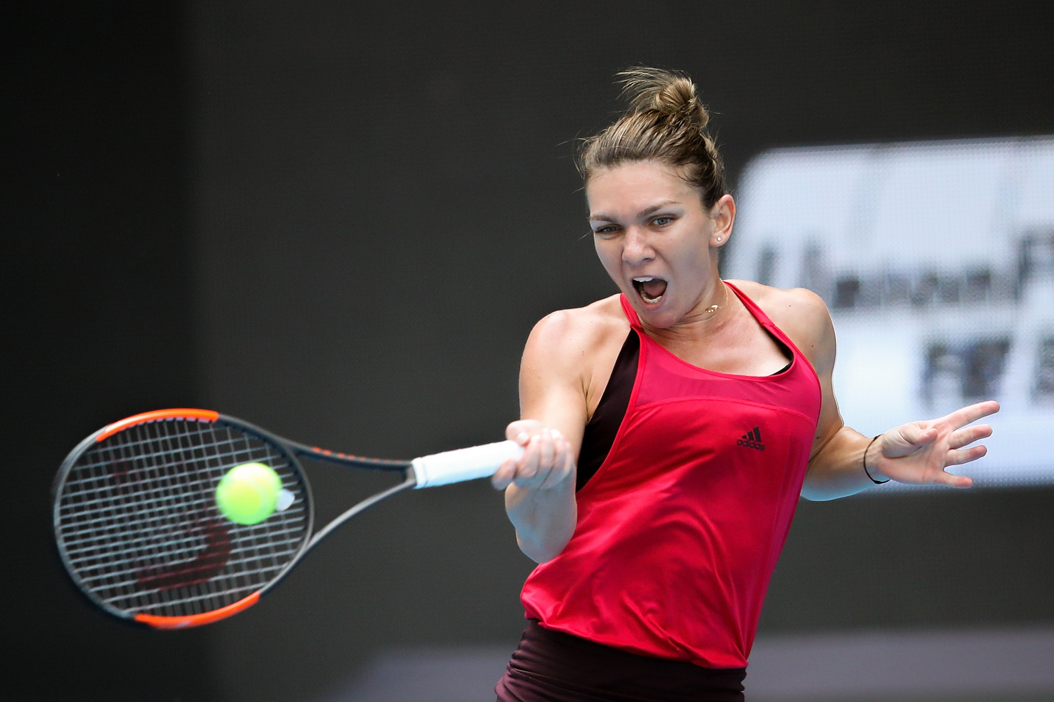 Simona Halep is a first-time winner of the women's prize ©Getty Images