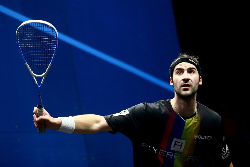 The Players Squash Association have announced record growth in their television exposure during the first six months of 2015 ©Getty Images