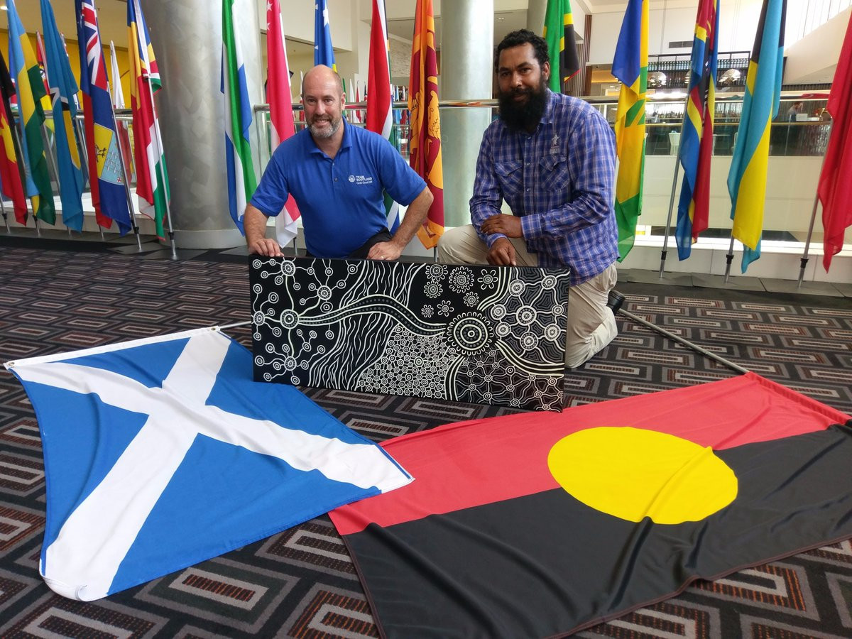 Commonwealth Games Scotland partner with local artist to develop Gold Coast 2018 theme