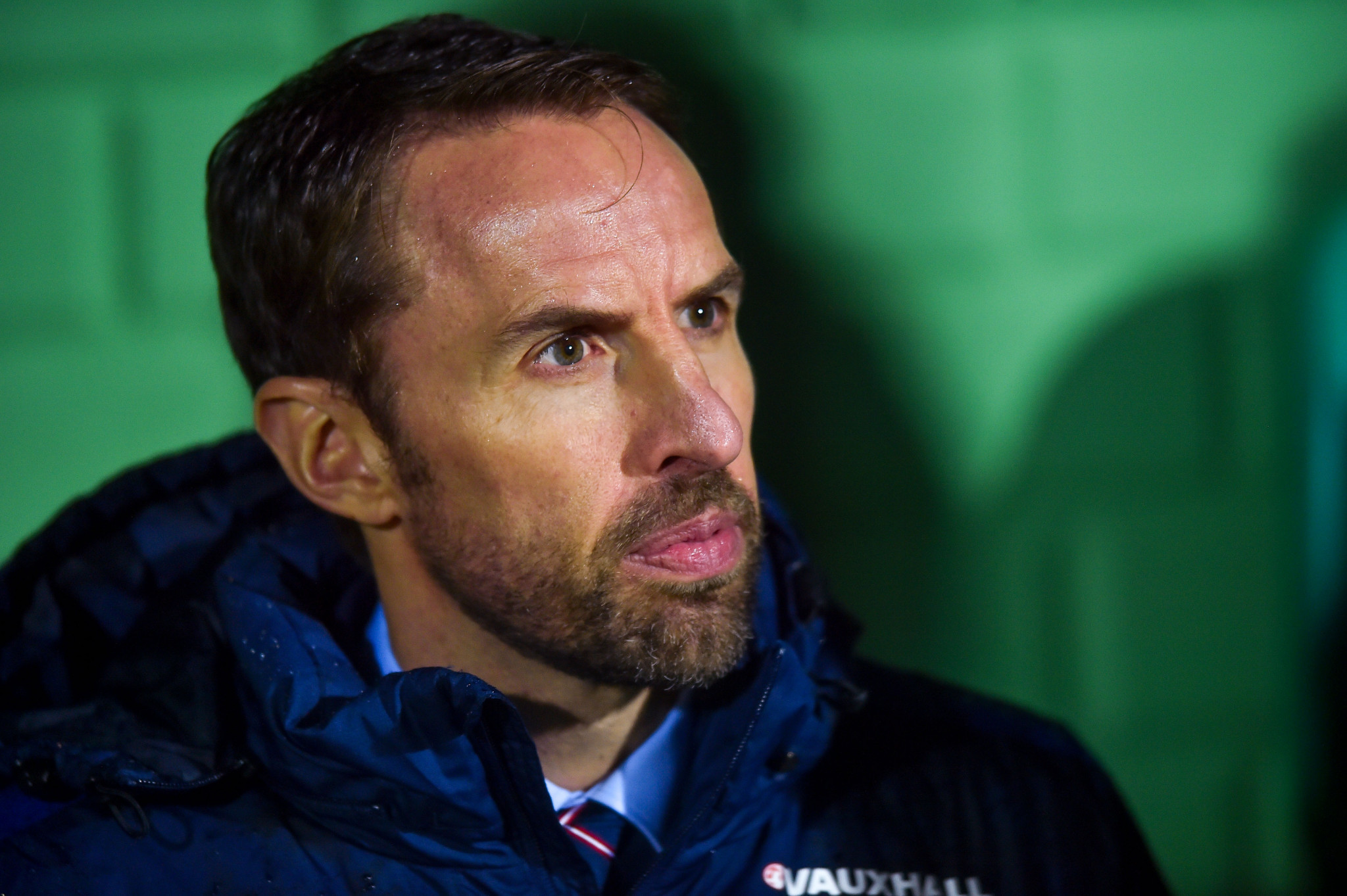 England head coach Gareth Southgate - there seems to be little improvement in the team's performance since he came to office ©Getty Images