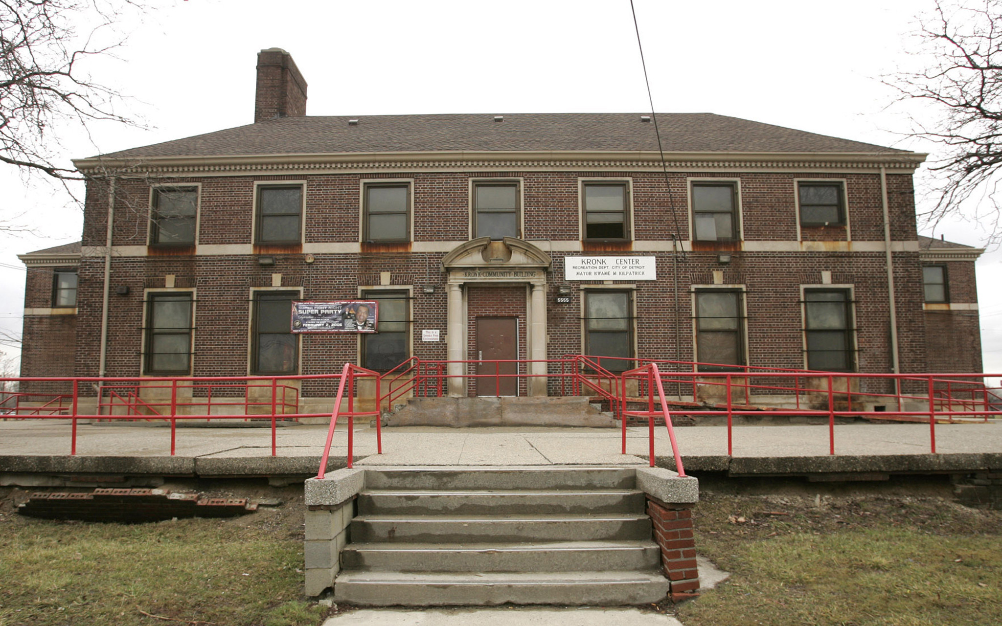 The Kronk Boxing Gymnasium in Detroit has burnt down ©Kronk
